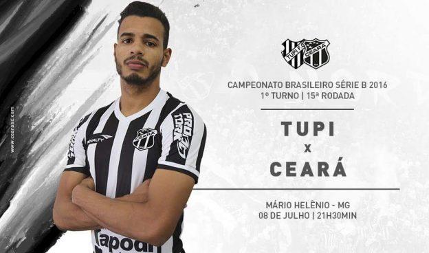 Tupi x Ceará – Moleza nem pensar (Imagem: CearaSC.com/Divulgação)