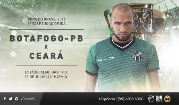 Botafogo/PB x Ceará – Com a seriedade devida (Imagem: CearaSC.com/Divulgação)