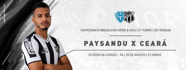 Paysandu x Ceará – Com o mesmo foco (Foto: CearaSC.com/Divulgação)