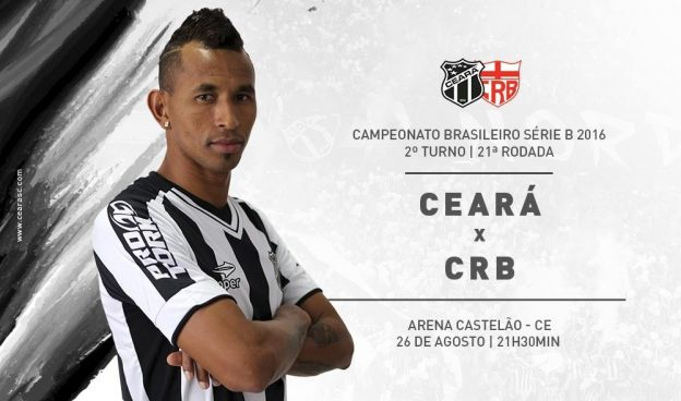 Ceará x CRB – Retomar o caminho das vitórias (Foto: CearaSC.com)