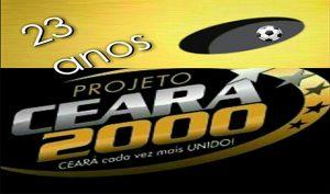 Projeto Ceará 2000 chega aos 23 anos (Imagem: CearaSC.com/Divulgação)