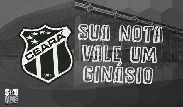 Doe suas notas fiscais e ajude o Ceará em mais uma campanha (Foto: CearaSC.com)