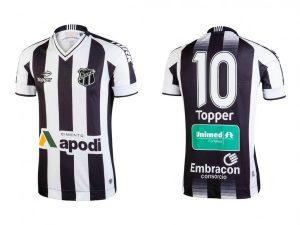 O Vozão adotou a numeração fixa na camisa dos jogadores (Foto: Divulgação)