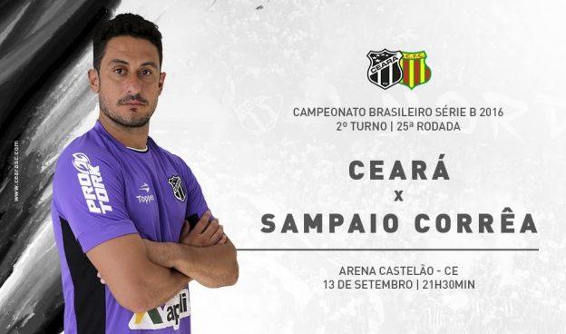 Ceará x Sampaio Corrêa – Vá e vença! (Foto: CearaSC.com/Divulgação)