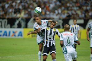 Bill desperdiçou varias oportunidades de gol na partida (Foto: Tatiana Fortes)