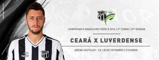 Ceará x Luverdense – Vencer e sobreviver (foto: CearaSC.com/Divulgação)