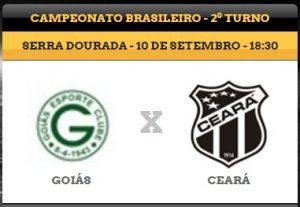 Goiás x Ceará – Pressão alta (Foto: CearaSC.com/CearaSC.com)