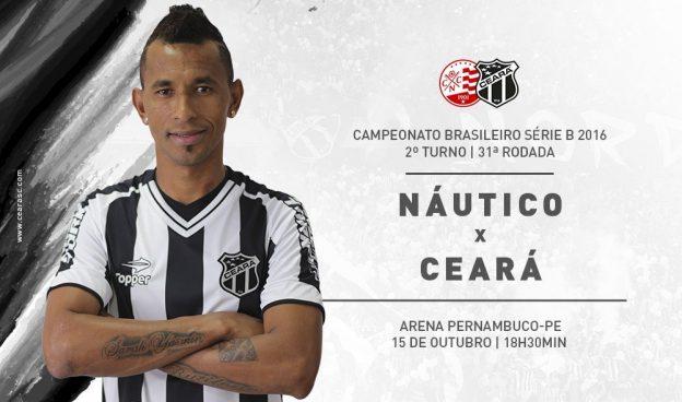 Náutico x Ceará – Vencer é só o que interessa (Foto: CearaSC.com/Divulgação)