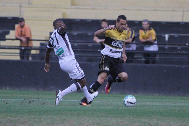 Wescley fez o gol que garantiu a vitória do Vozão (Foto: Caio Marcelo/CriciúmaEC)