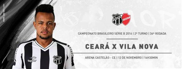 Ceará x Vila Nova – Manter a dignidade (Foto: CearaSC.com/Divulgação)