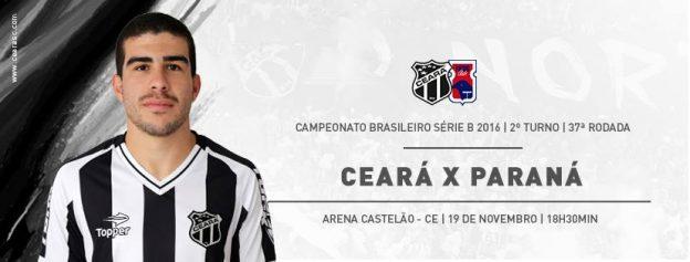 Ceará x Paraná – De olho na Copa do Brasil  (Imagem: CearaSC.com/Divulgação)