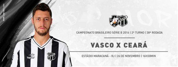 Vasco x Ceará – O nome em jogo (Imagem: CearaSC.com/Divulgação)