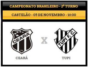 Ceará x Tupi – Vale a honra (Foto: CearaSC.com/Divulgação)