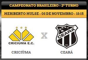 Criciúma x Ceará – Pela camisa (Imagem: CearaSC.com/Divulgação)