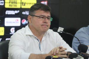 Gestão de Robinson de Castro na parte do futebol tem sido só de decepções (Foto: Mateus Dantas)