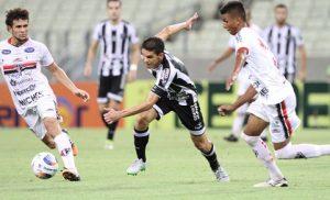 Magno Alves marcou seu 1º gol na temporada (Foto: Evilázio Bezerra/O Povo)