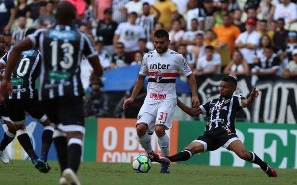 3b1e4ebab3 Ceará 0x0 São Paulo - Esbarrando nas limitações - Blog do Vozão