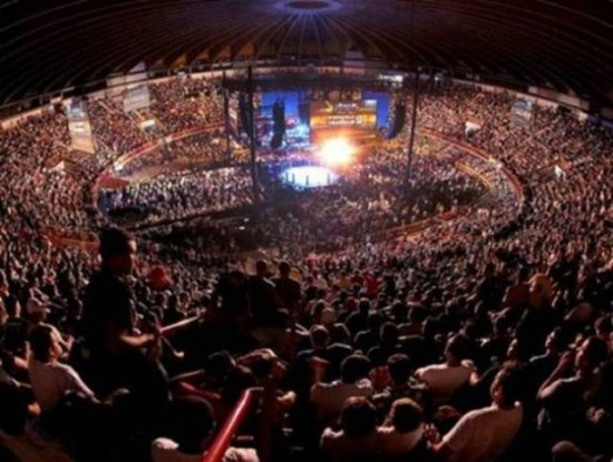 Evento ter lotação máxima, como nas outras edições realizadas em Fortaleza. Foto: UFC/Divulgação