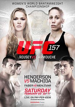 UFC-157-pôster