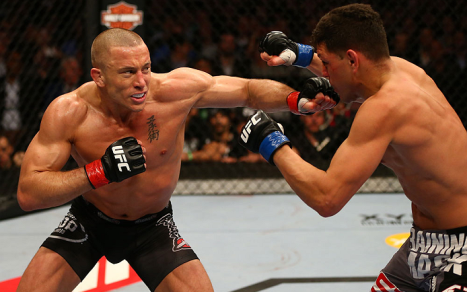 St. Pierre domina a categoria dos meio-médios do UFC há seis anos Foto: UFC/Divulgação