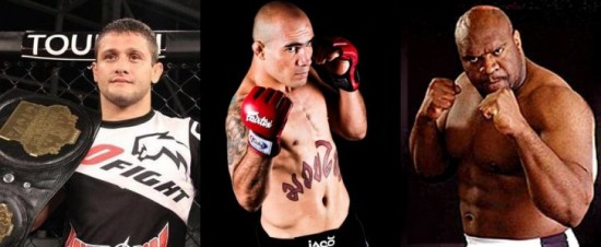 Andrezinho Nogueira, Bob Sapp e Junior Killer fazem parte do card do OX MMA Event