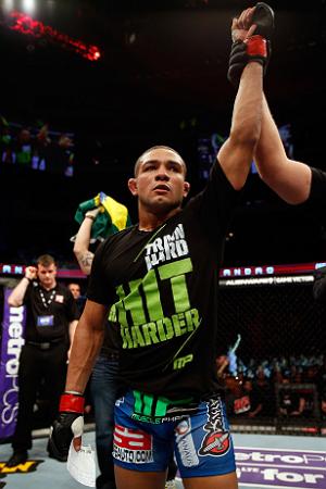 Diego realizou 10 lutas no UFC. Foto: UFC/Divulgação