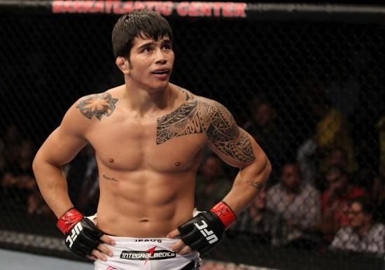 Erick Silva fará a 4ª luta principal da noite. Foto: UFC/Divulgação
