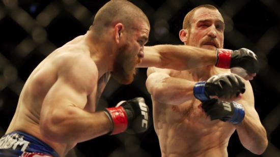 Miller mostrou superioridade na trocação e na luta de solo. Foto: UFC/Divulgação