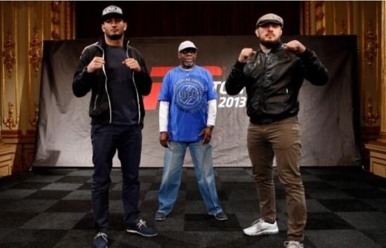 Protagonistas da Foto: UFC/Divulgação