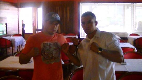 Andrezinho Nogueira e Willamy Chiquerim já assinaram contrato para luta no OX MMA Event