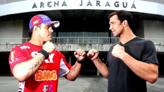 Vitor Belfort e Luke Rockhold fazem luta principal da noite