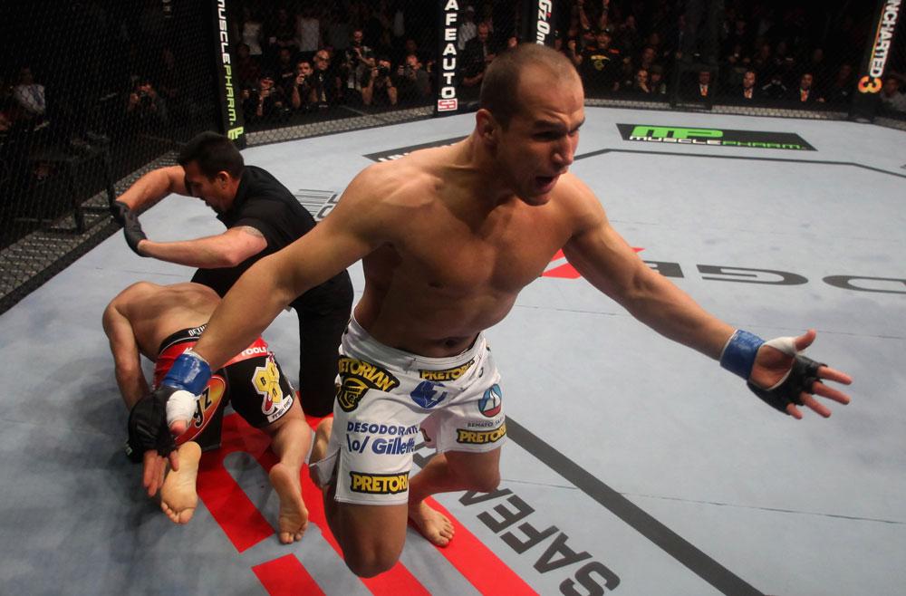 Júnior 'Cigano' Dos Santos sonha como nova disputa por cinturão. Foto: UFC/Divulgação