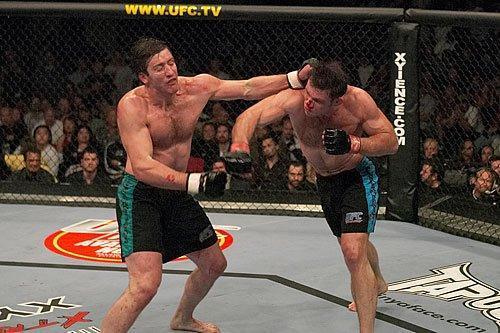 Contra Stephan Bonnar, Griffin protagonizou umas das lutas mais disputadas da história do UFC