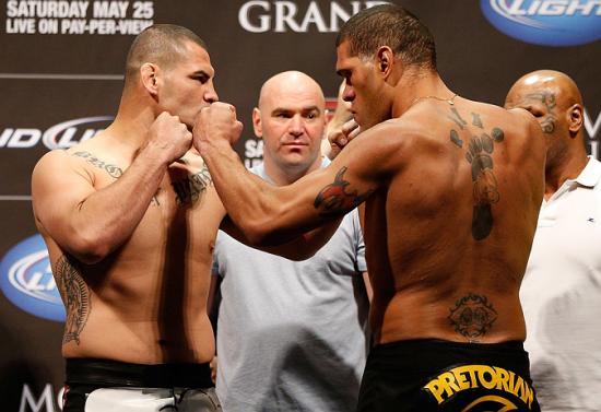 Velasquez x Pezão. Foto: UFC/Divulgação