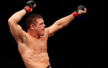 Caio conquistou sua 1ª vitória no UFC. Foto: UFC/Divulgação