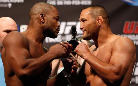 Na luta principal, Dan Henderson enfrenta Rashad Evans. Foto: UFC/Divulgação