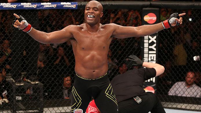 Anderson Silva é uma lenda do MMA e foi campeão dos médios do UFC por sete anos. Foto: UFC/Divulgação