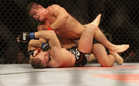 Caio Monstro venceu Karlos Vemola no UFC em Fortaleza, dia 8 de junho. Foto: FCO Fontenele/O POVO