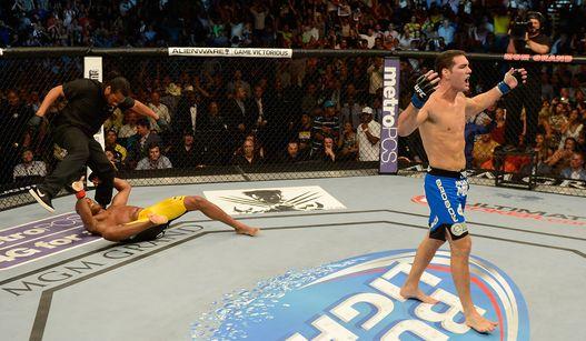 Chris Weidman chega ao topo da categoria aos 29 anos. Foto: UFC/Divulgação