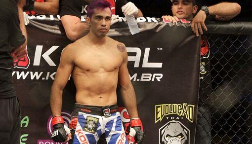 Pepey faz sua quinta luta no UFC | Foto: Fco Fontenele / O POVO