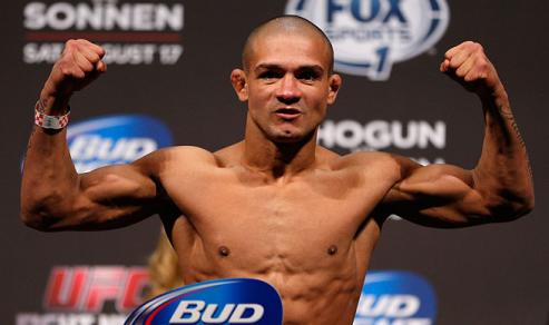 Diego tem 26 anos e nasceu em Fortaleza. Foto: UFC/Divulgação