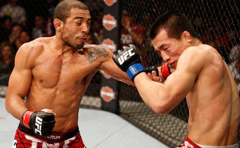José Aldo enfrenta neste sábado, 1º, Ricardo Lamas, no UFC 169 Foto: UFC / Divulgação Foto: UFC/Divulgação