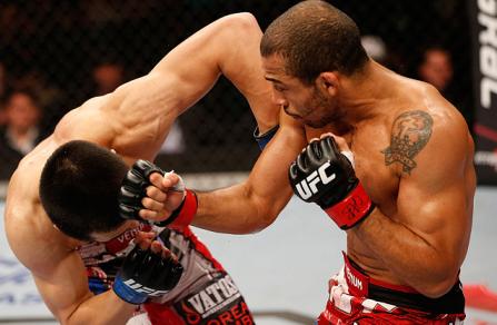 Aldo quebrou a sequência de três vitórias seguidas do coreano. Foto: UFC/Divulgação