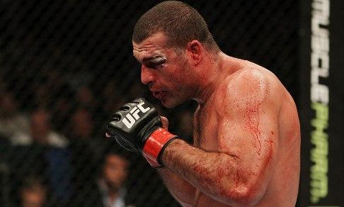 Shogun perdeu a 2ª seguida no UFC. Foto: UFC/Divulgação