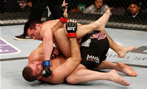 Sonnen foi soberano na luta contra Shogun. Foto: UFC/Divulgação