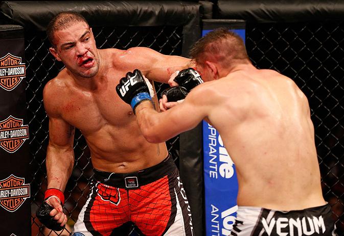Thales Leites fez um duelo tenso no Rio. Foto: UFC/Divulgação