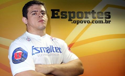 Caio Monstro, lutador do UFC, participará do debate. Foto: Tatiana Fortes/O POVO