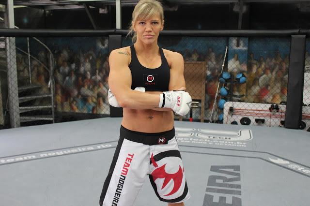 Duda é veterana nas artes marciais e já tem 36 anos. Foto: Divulgação