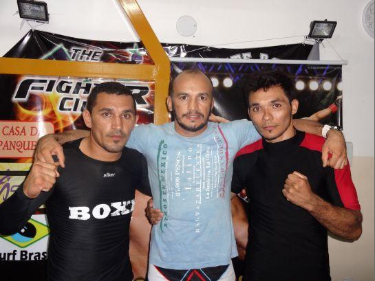 Arthuzinho, Paulo Guerreiro e Joaquim Carneiro