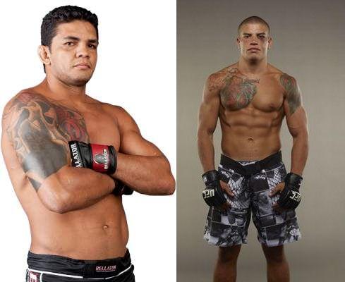 Carlos Índio (esq.) e Leonardo Macarrão (dir.)